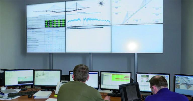 |Русский мост. Система мониторинга состояния моста