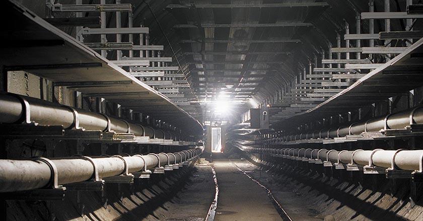 Кабельный коллектор между энергоподстанциями «Гражданская» и «Войковская» в Москве