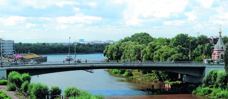 Проект капитального ремонта (реконструкции) Юбилейного моста в городе Омске