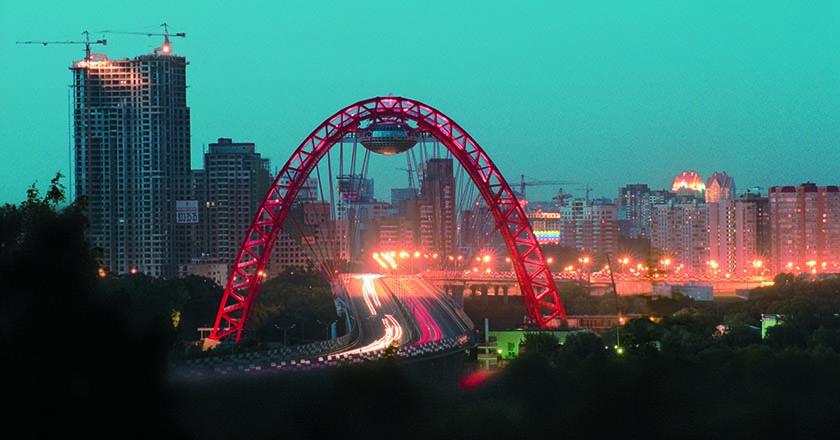 Мост. Живописный. Серебряный Бор. Москва