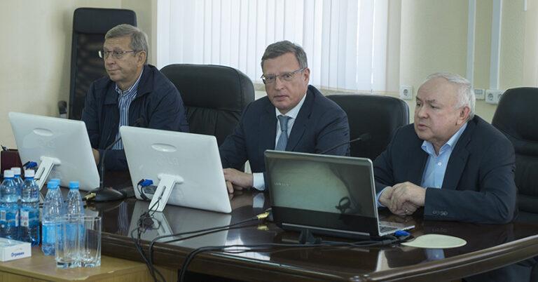 Встреча с Владимиром Евтушенковым и Александром Бурковым